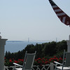<b>Submitted By:</b> Brandon Glowacki <b>From:</b> Traverse City <b>Description:</b> View from Grand Hotel porch, Mackinac Island