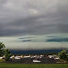 <b>Submitted By:</b> Peggy Sue Zinn <b>From:</b> Traverse City <b>Description:</b> Wall Cloud passing over Traverse City