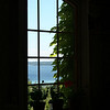 Bobi Murray, Chanhassen, MN<br /> Summer 2007<br /> Through the window of a vineyard on the Leelanau Peninsula  <br /> overlooking the bay<br /> Canon 20D