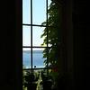 Bobi Murray, Chanhassen, MN<br /> Summer 2007<br /> Through the window of a vineyard on the Leelanau Peninsula  <br /> overlooking the bay<br /> Canon 20D