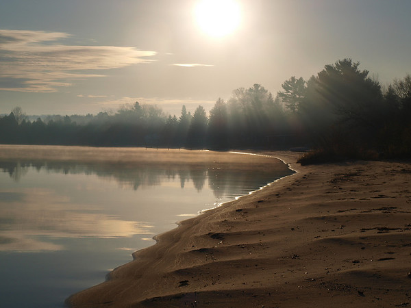 <b>Submitted By:</b> Darryl Johnson <b>From:</b> Suttons Bay <b>Description:</b> Early morning fall photo on Suttons Bay.