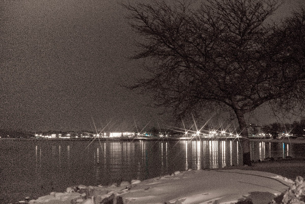 <b>Submitted By:</b> Peggy Sue Zinn <b>From:</b> Traverse City <b>Description:</b> West End Beach At Night