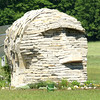 On purpose or accidental : Stoneface<br /> <br /> (North on M-33)<br /> <br /> John Novosad<br /> Houghton Lake