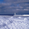 Carol Bennett - Frankfort, MI<br /> Photo taken of Lighthouse and Pier in Frankfort after the a big snow <br /> ....3-7-07.