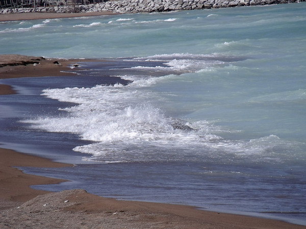 <b>Submitted By:</b> JoAnn Wilkinson <b>From:</b> Onaway, Michigan <b>Description:</b> Lake Huron Shore, Rogers City.