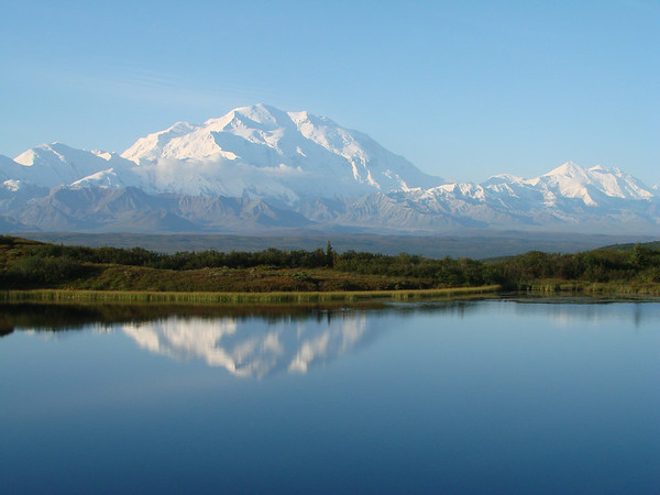 <b>Submitted By:</b> GARY B. HANSEN <b>From:</b> TRAVERSE CITY <b>Description:</b> MT McKINLEY IN AUGUST