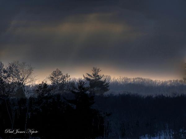 Winter Skyline Paul J Nepote Traverse City, Michigan Canon PowerShot  SX10IS