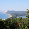 A view of Lake Michigan coastline from Empire.<br /> By: Floyd Mitz<br /> Traverse City