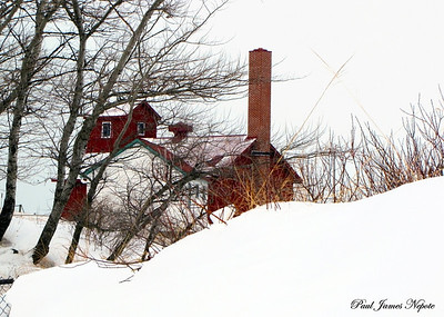 Point Betsie Station Storage Building Paul Nepote Traverse City, Michigan Canon PowerShot SX10IS