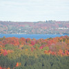 My name is Haley Lillie, and I live in Maple City. This photo was taken in <br /> October of 2008. It shows the fall colors around Lake Leelanau.