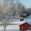 <b>Submitted By:</b> April Carroll <b>From:</b> Suttons Bay <b>Description:</b> Lake Leelanau narrows frosty day