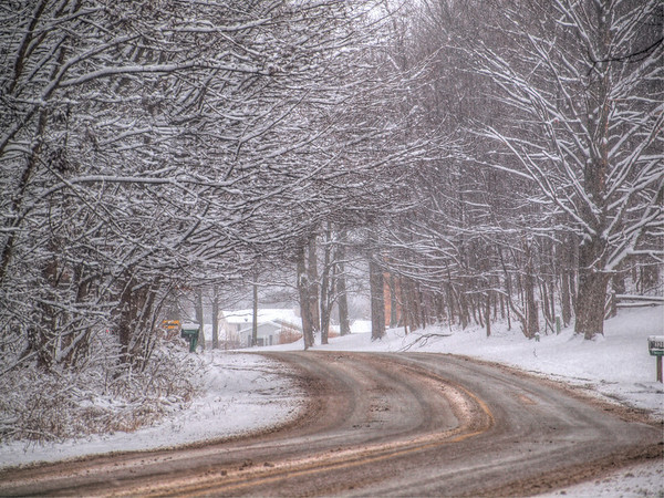 <b>Submitted By:</b> Joseph Williams <b>From:</b> Traverse City <b>Description:</b> Beginning of winter 2009 on Zimmerman Rd.