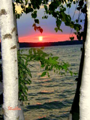 <b>Submitted By:</b> Ken R. Stickler <b>From:</b> Traverse City <b>Description:</b> Torch Lake Sunset