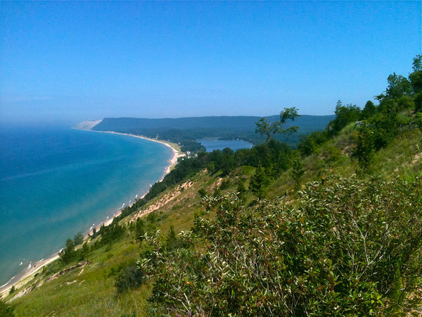 <b>Submitted By:</b> Barbara Neelly <b>From:</b> Traverse City <b>Description:</b> Empire Bluff Trail, Empire Michigan. Taken July 31st 2011