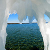 <b>Submitted By:</b> Shannon Woods <b>From:</b> Rapid City <b>Description:</b> View of West Bay through ice during Winter Wow Fest 2012