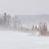 <b>Submitted By:</b> Peggy Sue Zinn <b>From:</b> Traverse City <b>Description:</b> Fog on Silver Lake