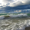 <b>Submitted By:</b> AnnMarie ParsonMcNamara <b>From:</b> Copemish, mi <b>Description:</b> Shot at Empire Beach on Labor Day 2010, as the storm was coming in. http://www.ampm24-7.com