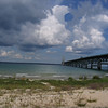 Storm clouds over the Mackinac Strait viewed from Fort Michilimackinac.<br /> <br /> John Niesen, Traverse City