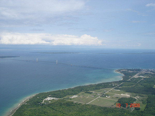 <b>Submitted By:</b> Knud Sondergaard <b>From:</b> Aalborg, Denmark <b>Description:</b> The Mackinac Bridge, July 09