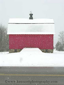 <b>Submitted By:</b> Molly Carroll Shugart <b>From:</b> Traverse City <b>Description:</b> The Shugart family barn at the farm on 633 in Bingham Township.
