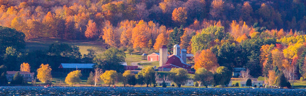 Red Barn in Fall<br /> <br /> Photographer's Name: Peggy Sue  Zinn<br /> Photographer's City and State: traverse city, MI