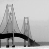 <b>Submitted By:</b> Stephanie Badour <b>From:</b> Traverse City  <b>Description:</b> Mackinaw Bridge From the South Side of the Lower Peninsula
