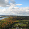 <b>Submitted By:</b> Ruth Ring <b>From:</b> Traverse City <b>Description:</b> Taken at approx 1730 on Sunday 11 OCT 2009 over Antrim County near Bellaire.