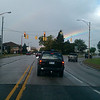 <b>Submitted By:</b> Margaret Szajner <b>From:</b> Traverse City <b>Description:</b> The rainbow ends in Traverse City