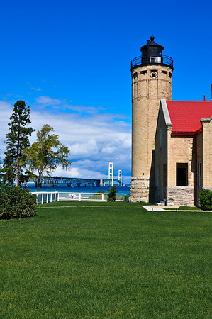 <b>Submitted By:</b> Steve Nowakowski <b>From:</b> Lambertville, Michigan <b>Description:</b> Old Mackinac Point Lighthouse in Mackinaw City Michigan during our summer vacation of 2010.