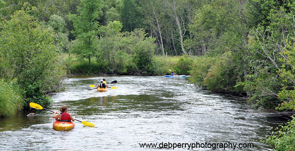 <b>Submitted By:</b> Deb Perry <b>From:</b> Traverse City <b>Description:</b> The Boardman River at Traverse City, Michigan is quick, clear and perfect for outdoor sports.