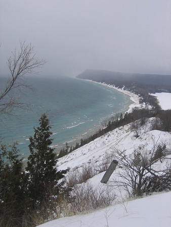 <b>Submitted By:</b> Kirk Ciaglaski <b>From:</b> Sutton's Bay <b>Description:</b> Empire, A winters day