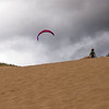 Sand girl, Sleeping Bear Dune.  Photo taken on 8/10  by Peter DeCamp, <br /> Chicago, Illinois