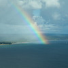 <b>Submitted By:</b> Scott J Conaway <b>From:</b> Traverse City, Michigan <b>Description:</b> Rainbow over West Bay, Taken from the air. If you can't find the bright side, look for the rainbow.
