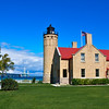 <b>Submitted By:</b> Steve Nowakowski <b>From:</b> Lambertville, Michigan <b>Description:</b> Old Mackinac Point Lighthouse in Mackinaw City during our vacation in the summer of 2010.