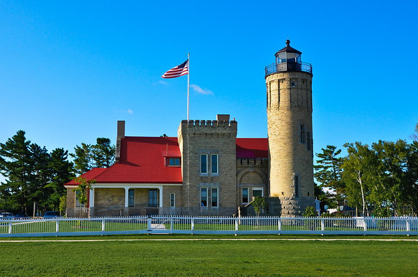 <b>Submitted By:</b> Steve Nowakowski <b>From:</b> Lambertville, Michigan <b>Description:</b> Old Mackinac Point Lighthouse in Mackinaw City during our summer vacation in the summer of 2010.