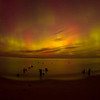 <b>Submitted By:</b> Guy Strong <b>From:</b> Cedar <b>Description:</b> Northern Lights over Lake Michigan just outside Leland Michigan at Good Harbor Beach