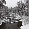 a snowy platte river flowing threw interlochen <br /> <br /> Photographer's Name: james fantozzi<br /> Photographer's City and State: interlochen, MI