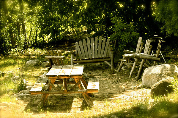 <b>Submitted By:</b> Roya Tremp <b>From:</b> Traverse City, MI <b>Description:</b> Sitting area at the waterfront