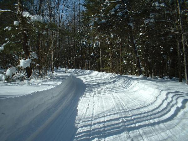 <b>Submitted By:</b> Brandon Glowacki <b>From:</b> Traverse City <b>Description:</b> Snowmobiling in northern Michigan