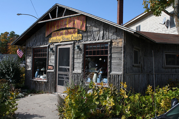Gift shop in Suttons Bay.<br /> By: Floyd Mitz<br /> Traverse City
