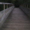 Kristine Hall<br /> Traverse City<br /> Footbridge on Boardman Trails in Traverse City.<br /> September 2007