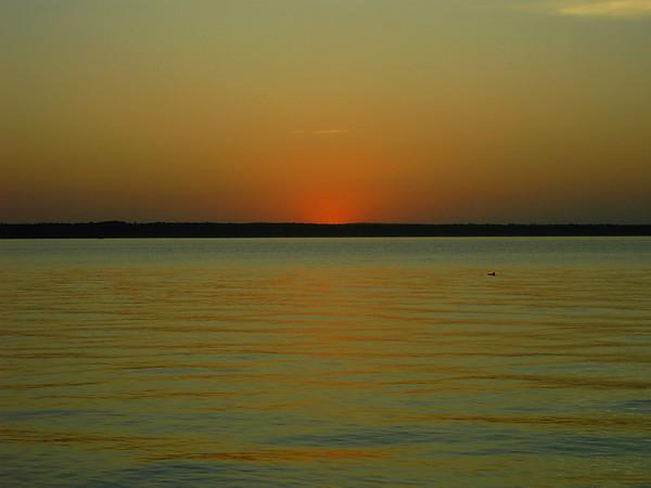 Higgins Lake Sunset<br />  <br /> Ben Roberts<br /> Charlotte North Carolina