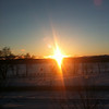 <b>Submitted By:</b> Donato Daddario <b>From:</b> Grawn, MI <b>Description:</b> Sunset Over Boardman river  -view from Traverse City Library 1-4-2011