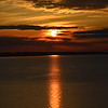 Sunset over South Manitou Island from Pyramid Point, May 13, 2015.<br /> <br /> Photographer's Name: chuck shelley<br /> Photographer's City and State: traverse city, MI