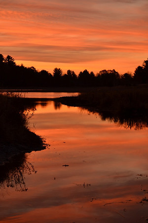 <b>Submitted By:</b> Myongsoon Cho <b>From:</b> Traverse City <b>Description:</b> Breathtaking sunrise. This was taken just south of Traverse City.