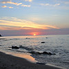 <b>Submitted By:</b> Steve Nowakowski <b>From:</b> Lambertville, MI. <b>Description:</b> Sunset at 40-Mile Light - Lake Huron