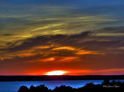 Sunset From Kroupa Hill  Paul J Nepote - Traverse City Canon PowerShot SX10IX