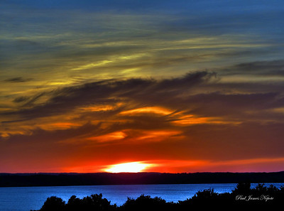 Sunset From Kroupa Hill  Paul J Nepote - Traverse City Canon PowerShot SX10IX