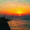 <b>Submitted By:</b> Caitlin Davis <b>From:</b> Frankfort <b>Description:</b> Frankfort sunset, with fishing poles