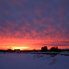 <b>Submitted By:</b> Norma Pszczolkowski <b>From:</b> Traverse City <b>Description:</b> Sunset from Hammond & 4 Mile, Feb. 13.
